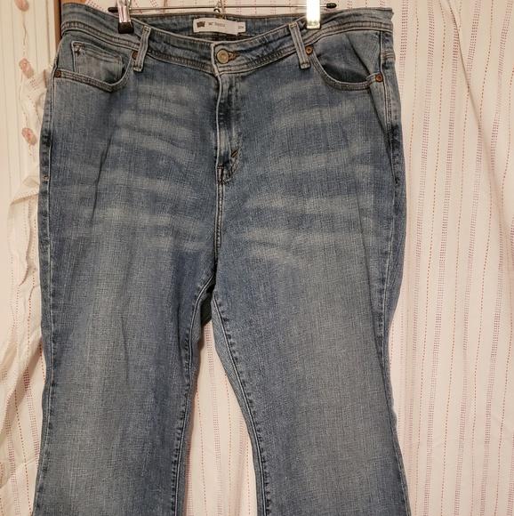 df289abcc4512 Levi s Denim - ⬇ Levi s 580 Curvy Bootcut Jean s 20W